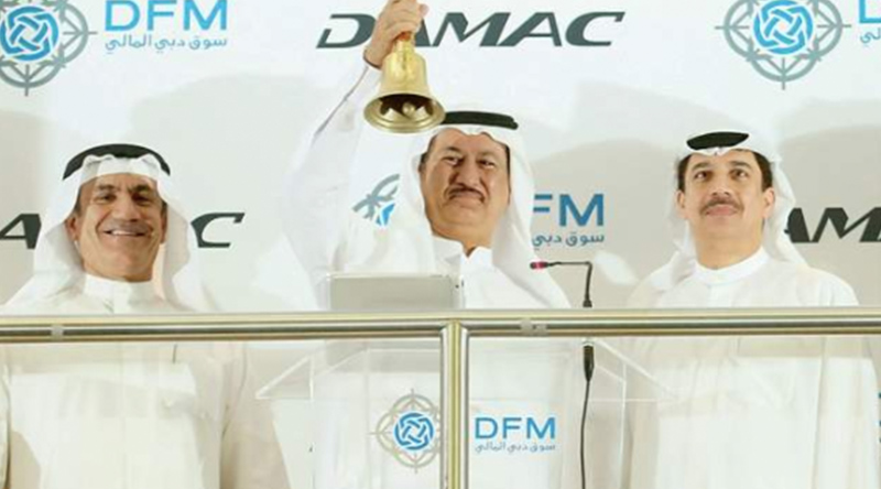 DAMAC listed on the Dubai Financial Market