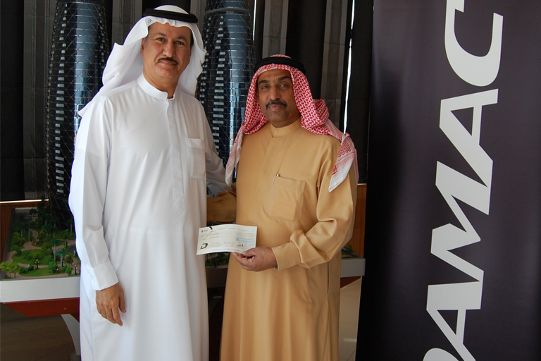 Hussain Sajwani Emirates Red Crescent – donated AED 1 million to the Tarahamu.