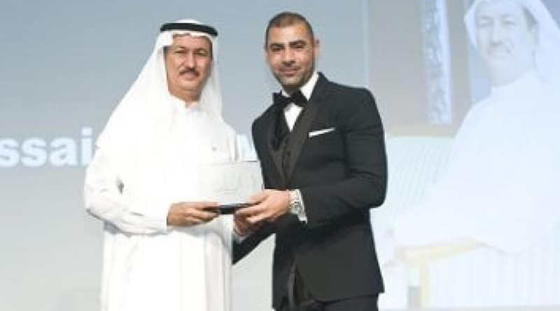CEO Middle East Award received for 'Property CEO of the Year'