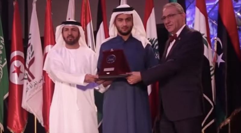 Received Arab Eagle Award for Wise Management