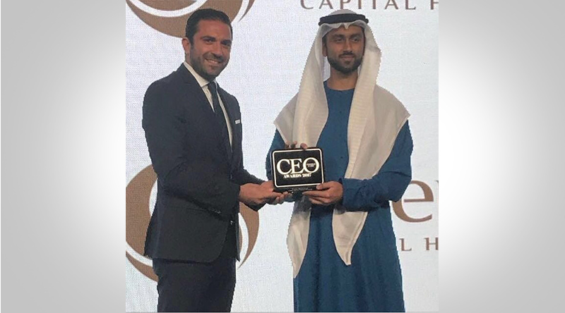 Recognised by CEO Middle East Magazine with Top Property CEO Award