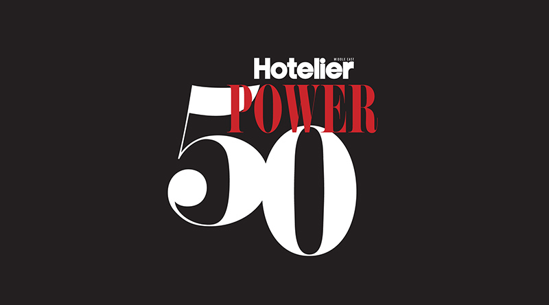 Ranked '6th most influential person in Dubai' by Hotelier Middle East