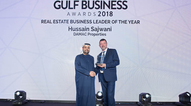 Gulf Business Award 2018 received for 'Real Estate Business Leader of the year'