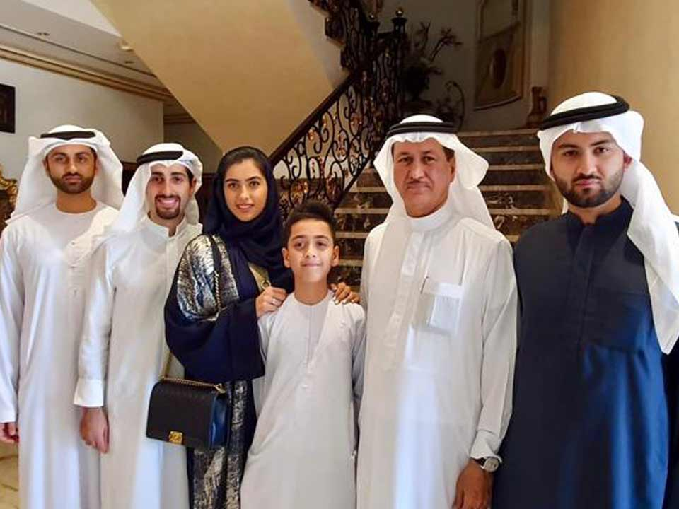 Eid with the family