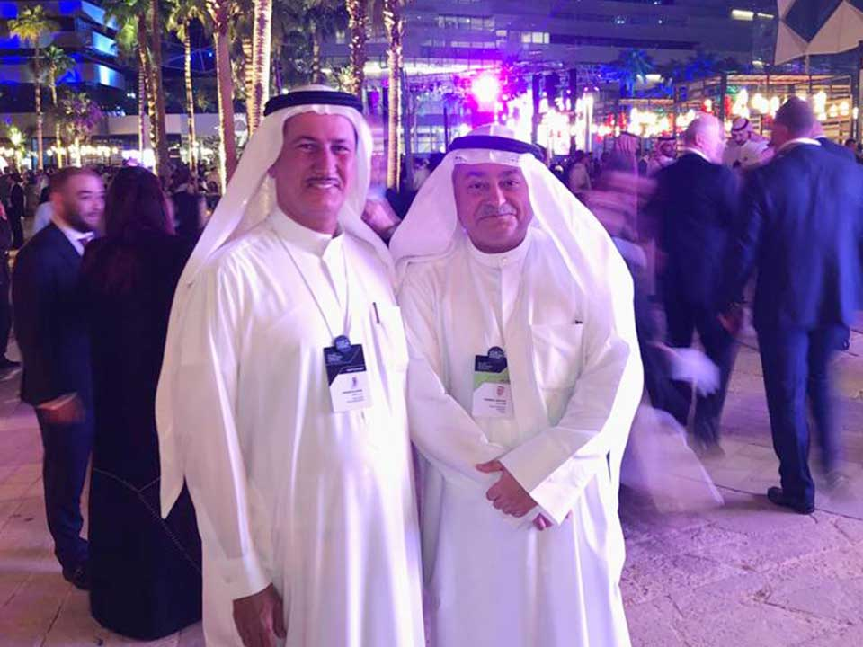 With HE Farouk A Bastaki, Managing Director at Kuwait Investment Authority