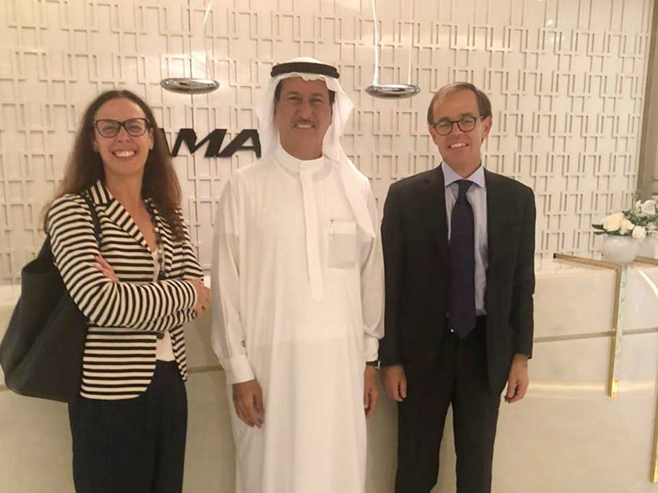 I was honoured today to meet His Excellency Nicola Lener, Ambassador of Italy to the UAE, and Her Excellency, Valentina Setta, Consul General of Italy in Dubai