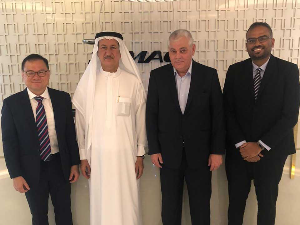 I had the pleasure of meeting H.E. Mr. Low Pit Chen, the Consul-General of the Republic of Singapore, Mr. Sugumaran Devaraja, Regional Director of Enterprise Singapore, along with Sofyan Adnan Khatib, Group Director of DAMAC
