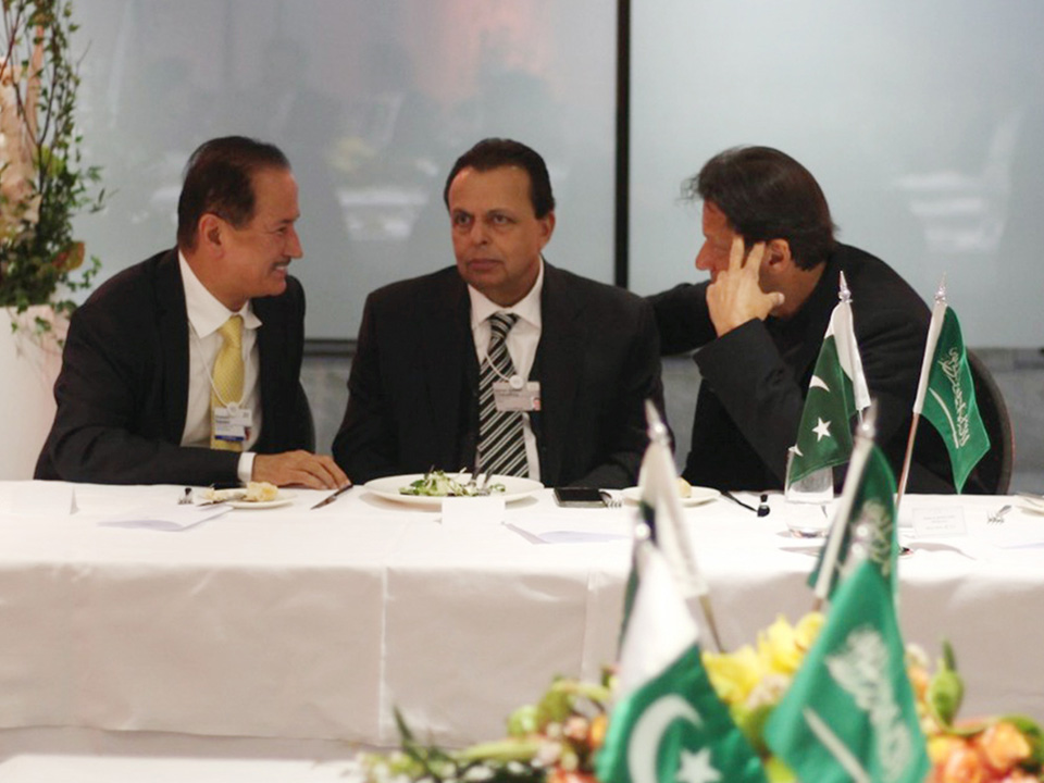 I had the honour of catching up with the Prime Minister of Pakistan, Imran Khan in Davos, Switzerland