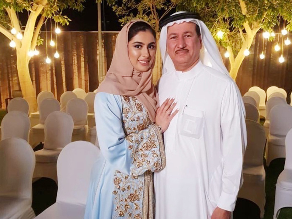 Talented, hard-working and a true role model for women all across the UAE. My beloved daughter, Amira