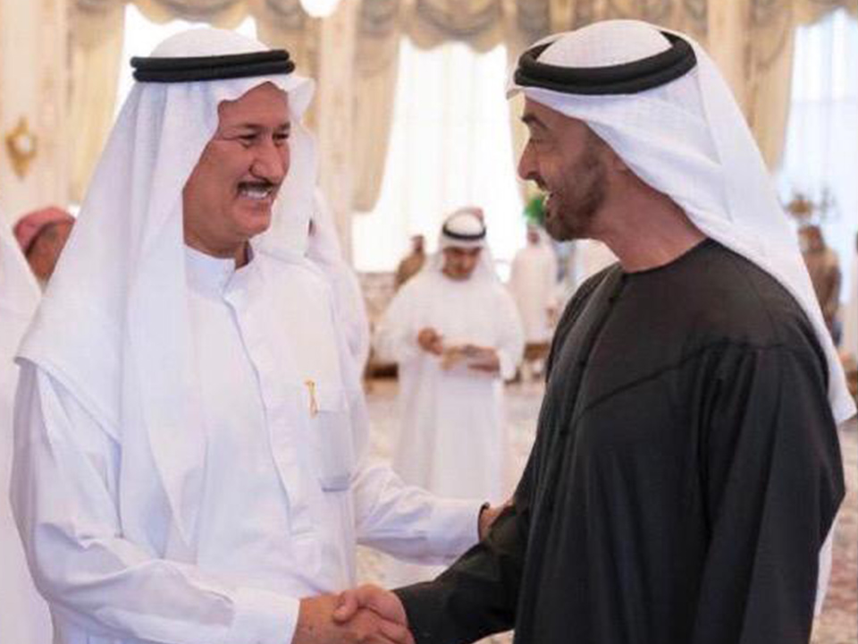 With HH Sheikh Mohammed Bin Zayed Al Nahyan