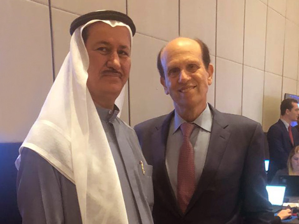It was a pleasure catching up with my good friend, and noted financier and philanthropist, Michael Milken