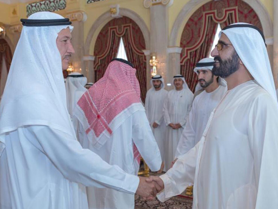 Always a great honour to meet our Visionary Leader HH Sheikh Mohammed bin Rashid